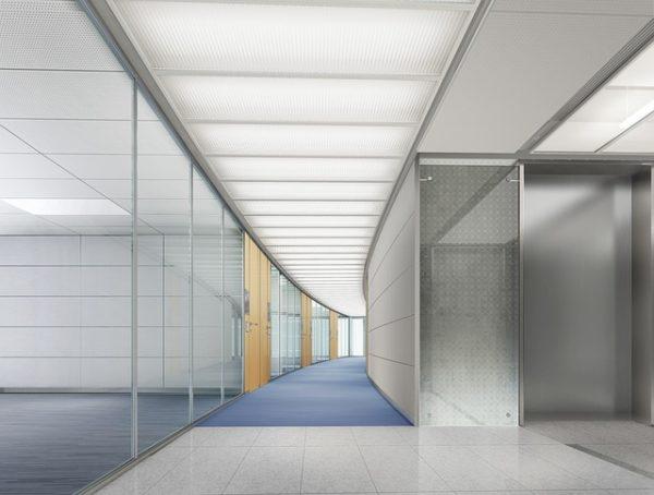 オフィス、廊下